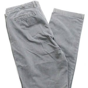 Seven7 Mens Gray Cotton Straight Leg Jeans Size 34